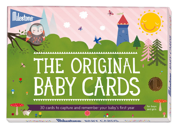 Baby's First Year Milestone Cards