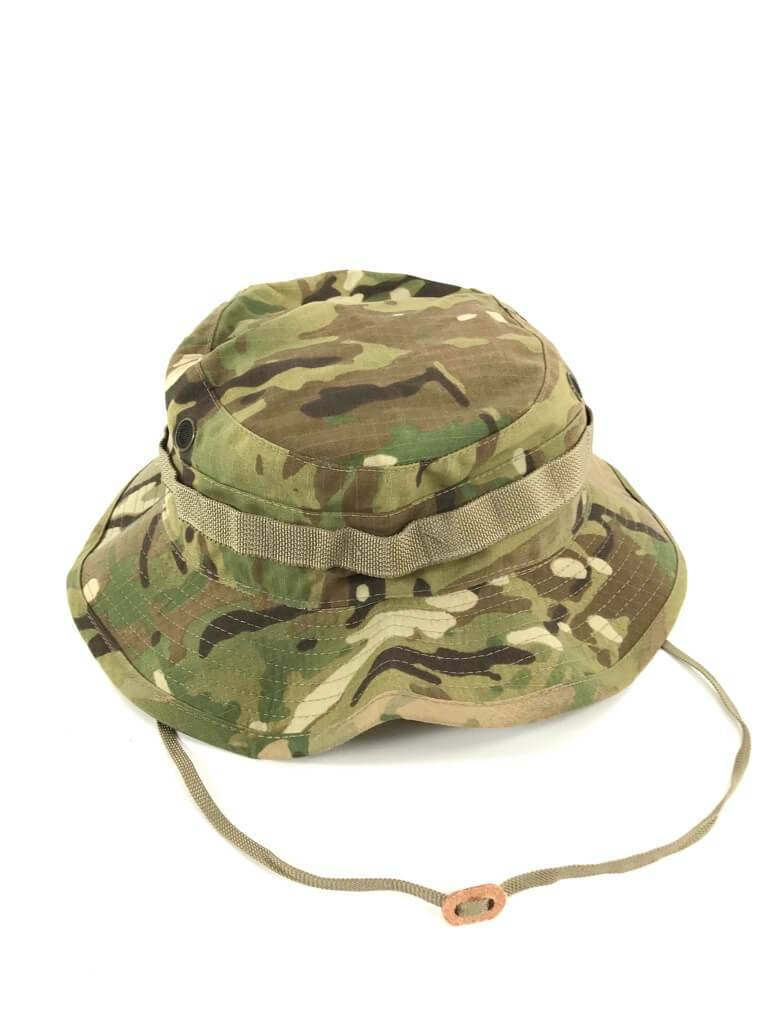 45d25c77c8810 Army Issue Boonie Hat - Parchment N Lead