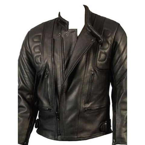 Limo Biker Jacket by Skintan Leather-Badboy Jewellery