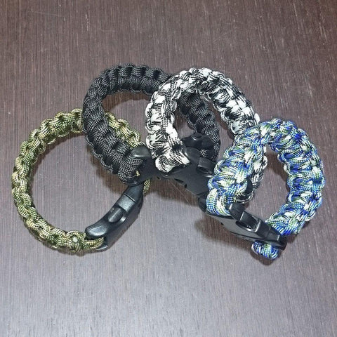 Paracord Survival Bracelet-Badboy Jewellery