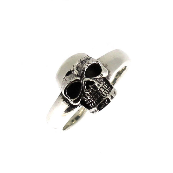 Sterling Silver Skull Ring-Badboy Jewellery