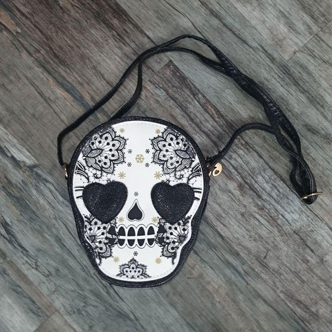 Sugar Skull Bag-Badboy Jewellery