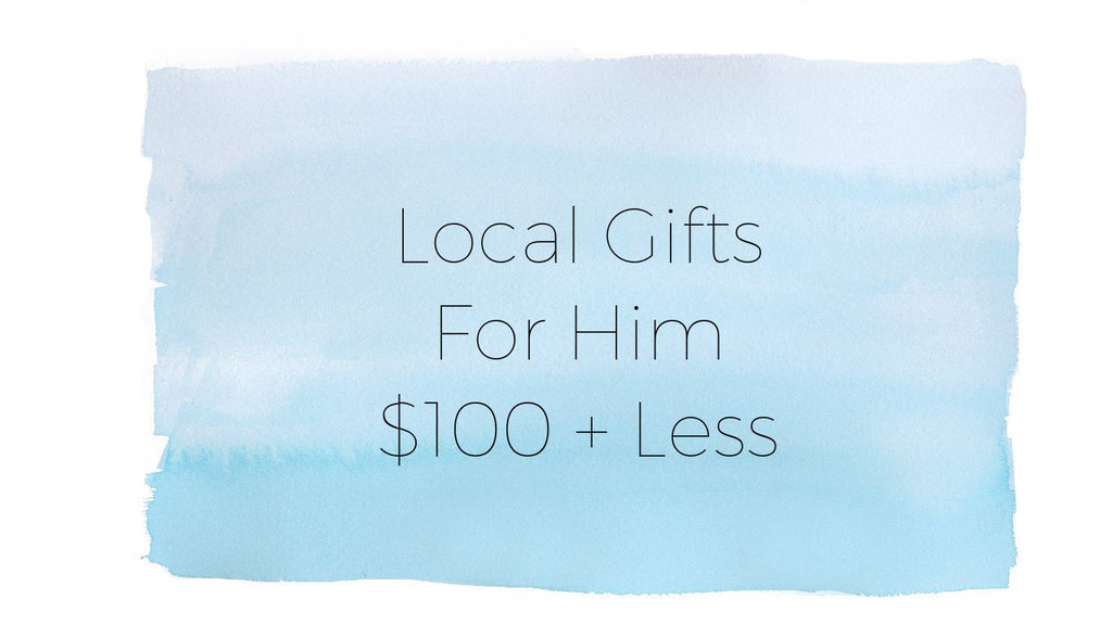 American Made Holiday Gift Guide for Him, $100 + Less