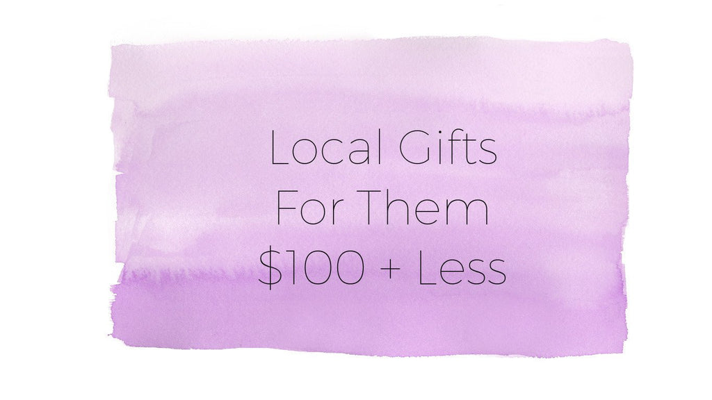 Local Holiday Gift Guide for Them, $100 + Less