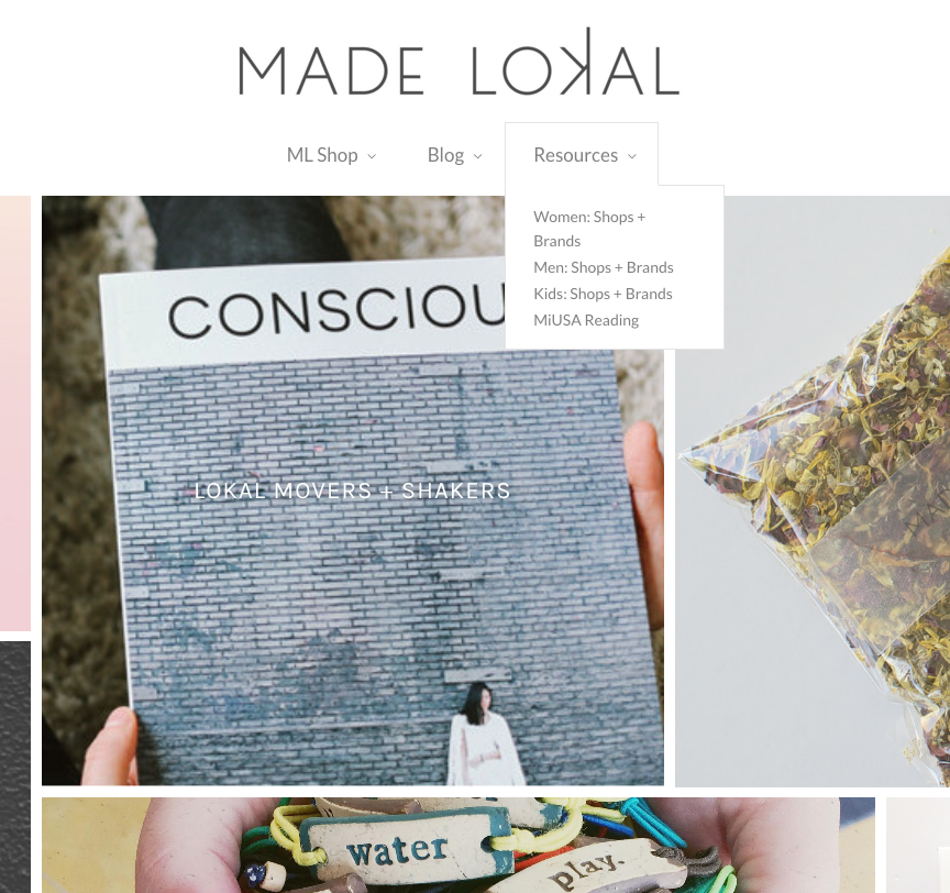Shops + Brands Making it Easy to Shop Local