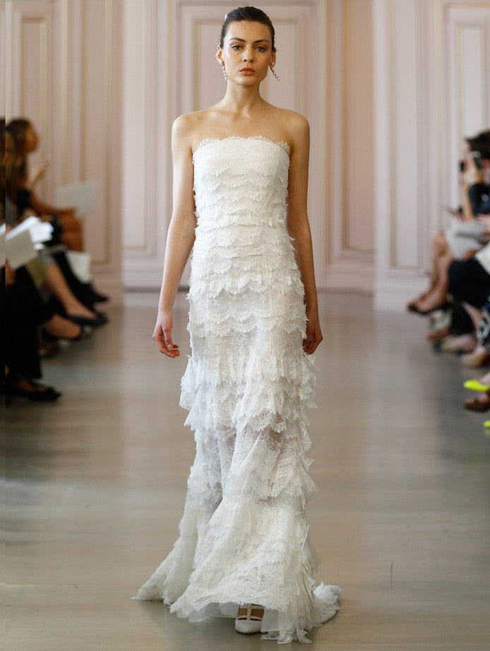 Oscar de la Renta made in America bridal