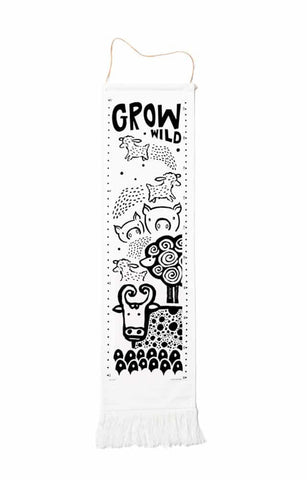 Growth Chart Holiday Gift for BAby and Toddler Handmade in USA