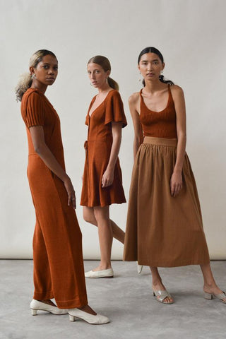 Kordal Studio Made in Brooklyn, NY USA focusing on knitwear and ethically made clothing