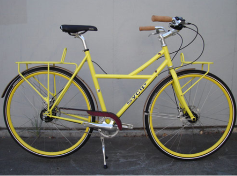 SyCip Java Town Cruiser Bicycles, Made in California