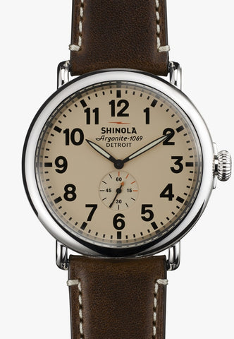 Shinola assembled in USA watch