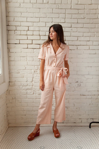 Plante Clothing, Spring 2018, Pink Jumpsuit