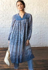Vestige Vintage Blue Dress