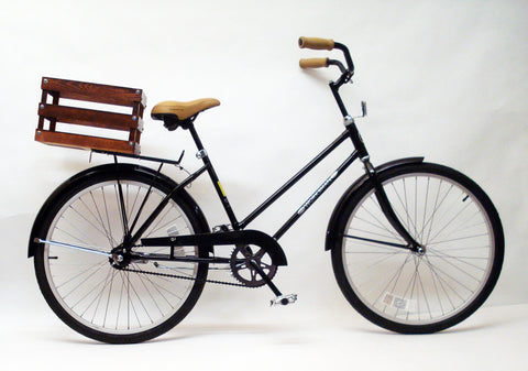 Worksman Cycles Women's Bicycle with Basket, Made in America