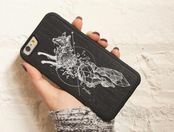 Carved American Made Cell phone case