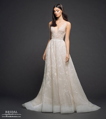 Made in USA wedding gown by Lazaro