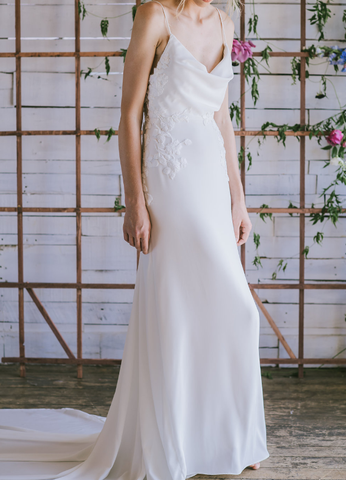 Made in America Wedding Dress by Loulette Bride