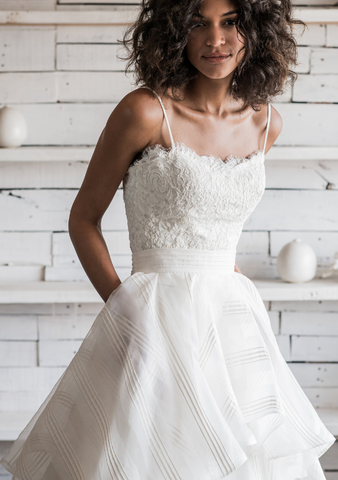Made in USA Wedding Dress by Loulette Bride, Brooklyn, NY