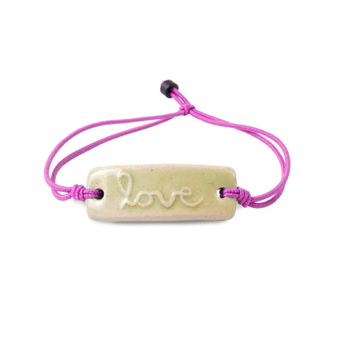 Water for Good Mudlove bracelet, Made in USA