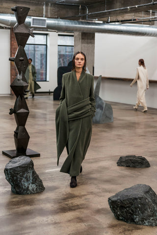 The Row American Made Womenswear at NYFW 2018 by Vogue.com