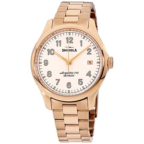 Shinola The Vinton Quartz Movement Beige Dial Ladies Watch S0120141279