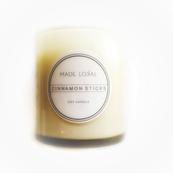 Cinnamon Sticks Candle, Made in America