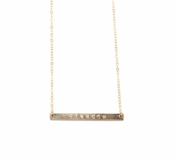 Made in America Freedom Necklace