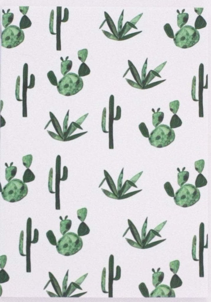 Cactus Notebook Made Local