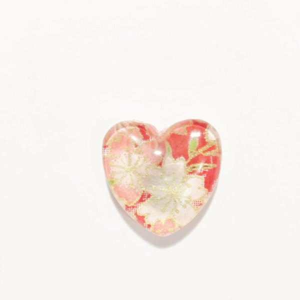 Handmade heart magnet made in Rhode Island