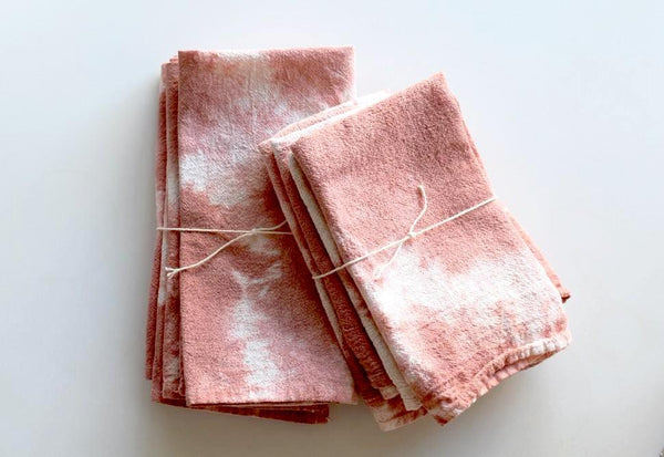 Terracotta Hand-Dyed Napkin, Set of Four