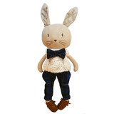 Bunny Stuffed Animal, Made in America by Mizu.me