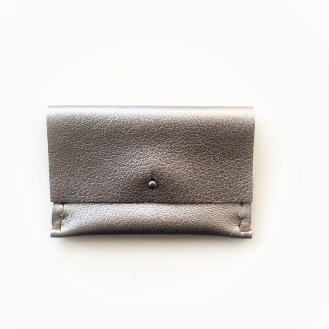 Card Case/Wallet, Gunmetal