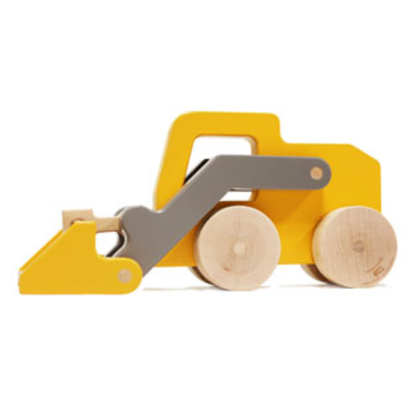 Made in USA Wooden Loader Toy by Manny and Simon