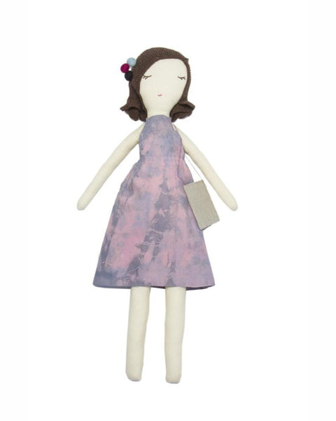 Snuggly Ugly doll with tie dye dress, Made in America