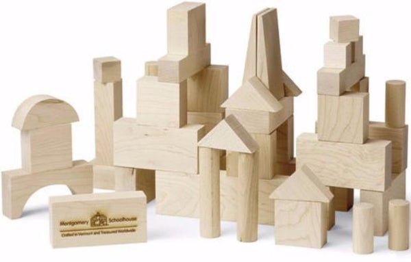 All Natural Made in America Wooden Blocks