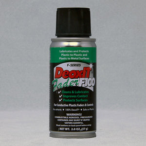 CAIG DeoxIT Fader Spray 100% Solution #F100S-L2, 57 g - AutoCareParts.com