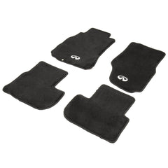 NRG Innovations FMR-600 Floor Mats with Infiniti Emblem logo