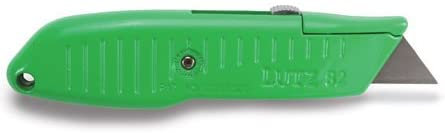 Lutz Tools #82 Safety Nose Retractable Blade Utility Knife - Green #30482 - AutoCareParts.com