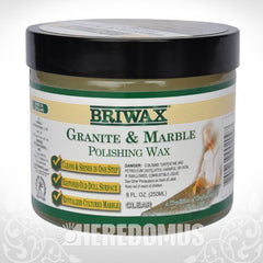 Briwax Granite and Marble Polishing Wax - 8 oz