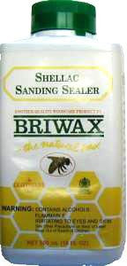 Briwax Shellac Sanding Sealer - 16 oz