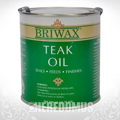 Briwax Teak Oil - 16 oz.
