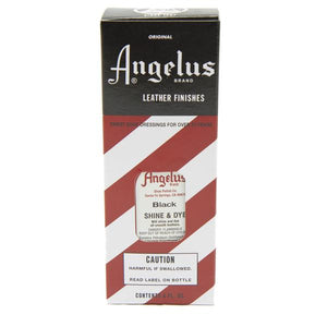 Angelus Shine & Dye Black #530-03-001, 3 oz - AutoCareParts.com