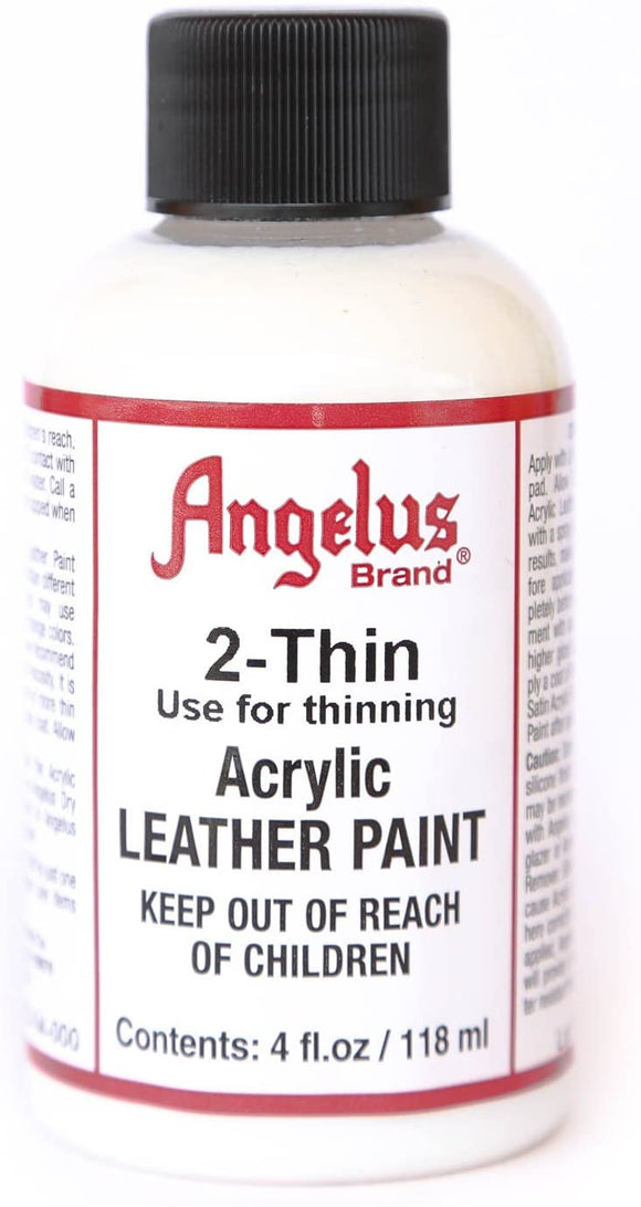 Angelus 2-Thin Acrylic Leather Paint Thinner #720-04-000, 4 oz - AutoCareParts.com