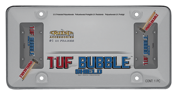 Cruiser Smoke 'Tuf Bubble Shield' License Frame #73200 - AutoCareParts.com
