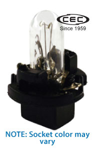 CEC Miniature Lamp #PC74, Box of 10 - AutoCareParts.com