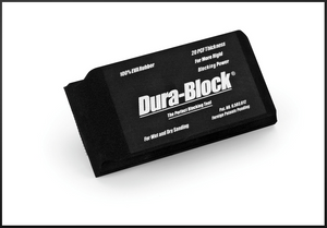 "Dura-Block 1/3 Hook & Loop Block (5.25"") #AF4417 - AutoCareParts.com"