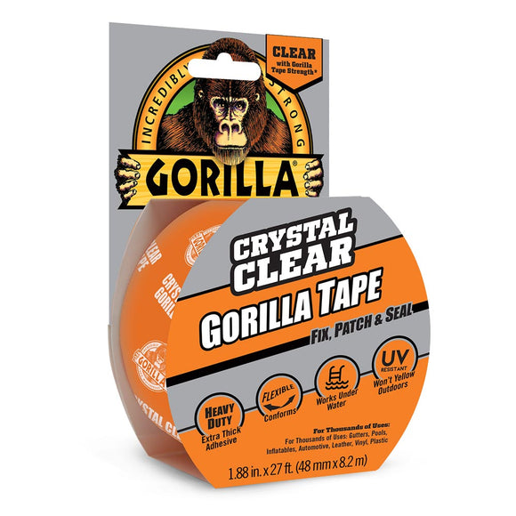 Gorilla Glue Clear Tape #6027002, 1.88