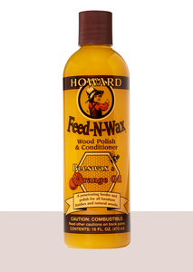 Howard Feed-N-Wax Wood Polish and Conditioner #FW0016, 16 oz - AutoCareParts.com