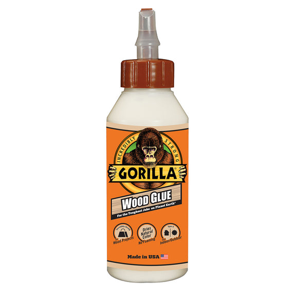 Gorilla Wood Glue #6200002, 8 oz - AutoCareParts.com
