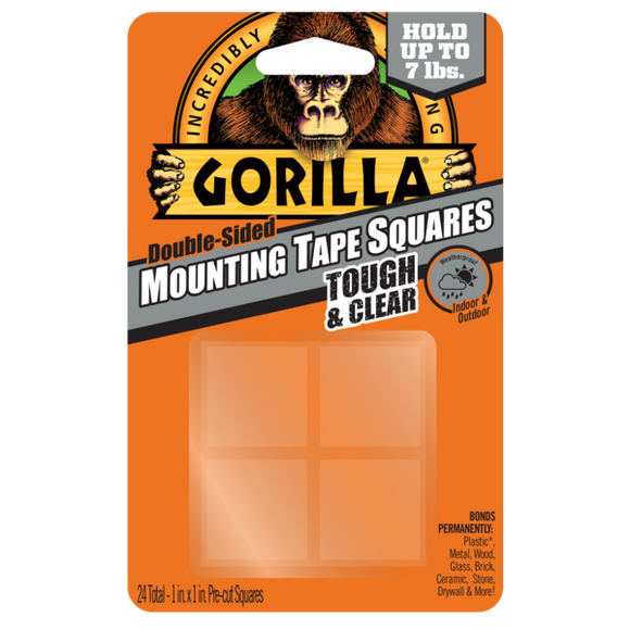 Gorilla Tough & Clear Mounting Tape #6067201, 1