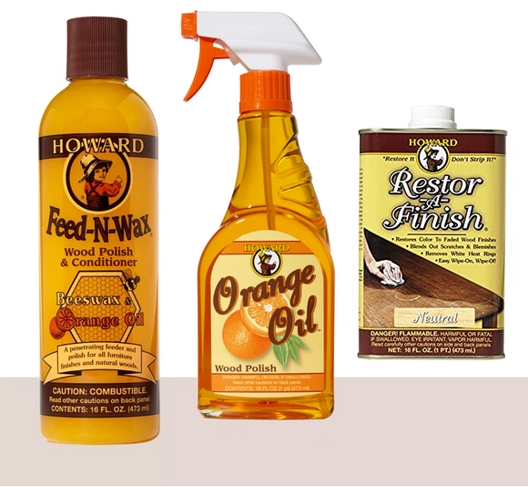 Howard Complete Wood Restoration Kit, Neutral - AutoCareParts.com